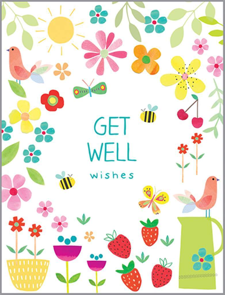 Get Well Card - Lemon And Lavender Toronto