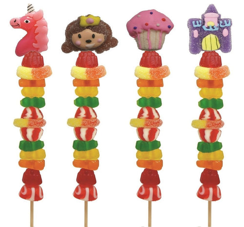 Handmade Gummy Kabob - Whimsical Princess - Lemon And Lavender Toronto