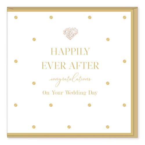 Happily Ever After - Wedding Card - Lemon And Lavender Toronto