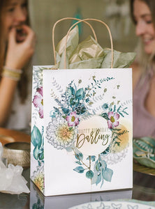 Happy Birthday Darling - Gift Bag - Lemon And Lavender Toronto