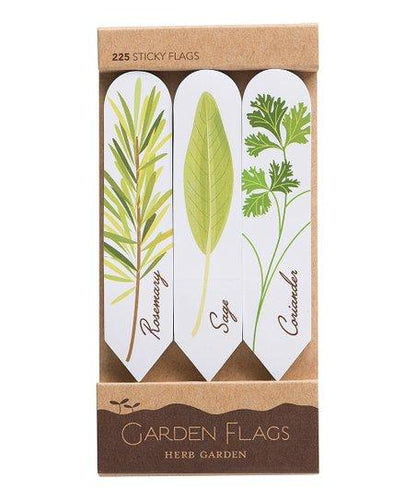 Herb Garden - 225 Sticky Page Flags - Lemon And Lavender Toronto