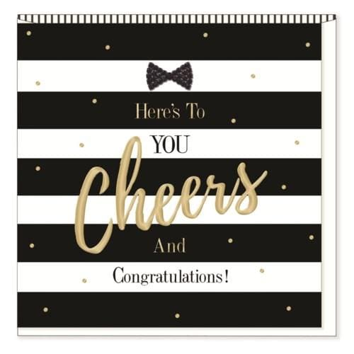 Here's to You! -Congrats Card - Lemon And Lavender Toronto
