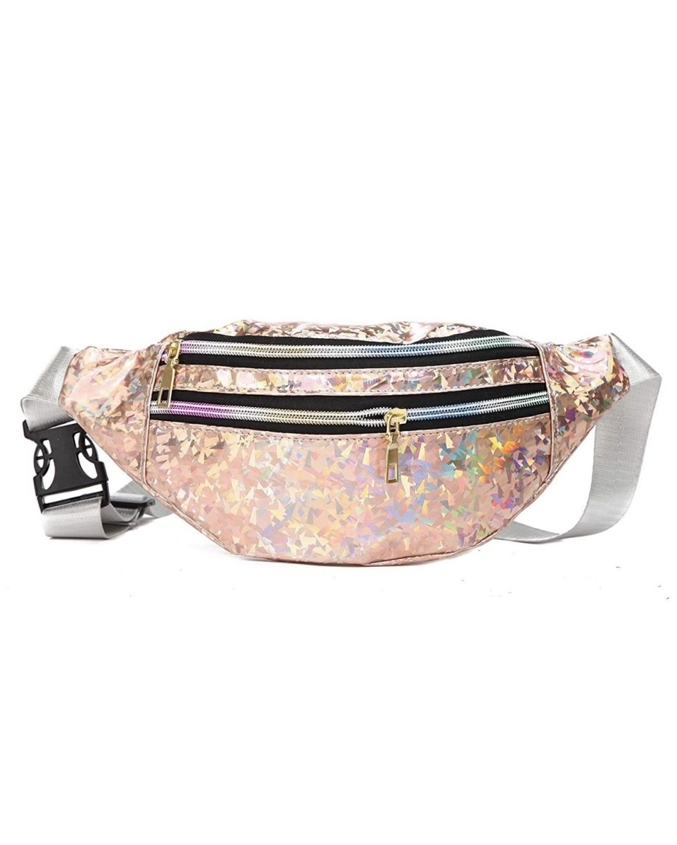 Holographic Fanny Pack rose Gold * PRE - ORDER FOR MONDAY DELIVERY* - Lemon And Lavender Toronto