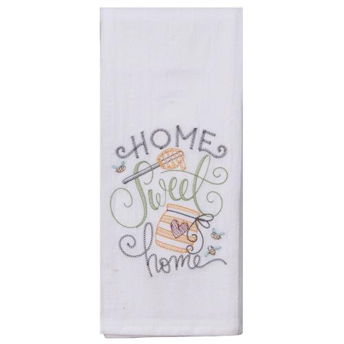 Home Sweet Home - Tea Towel - Lemon And Lavender Toronto