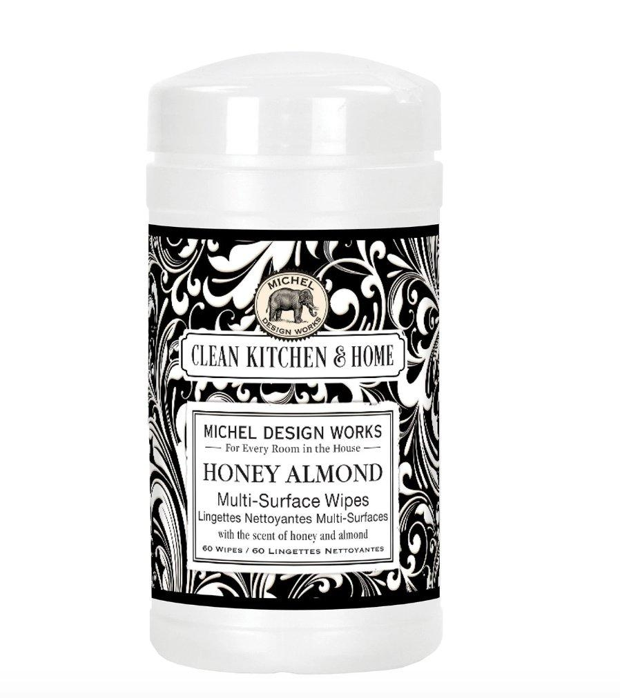 Honey Almond Multi-Surface Wipes - Lemon And Lavender Toronto