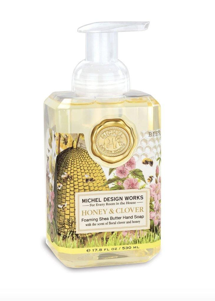 Honey & Clover Foaming Hand Soap - Lemon And Lavender Toronto