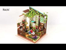 Load and play video in Gallery viewer, DIY Miniature with LED light- Garden