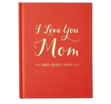 Load image into Gallery viewer, I love you Mom - Fill in the Blanks Book - Lemon And Lavender Toronto