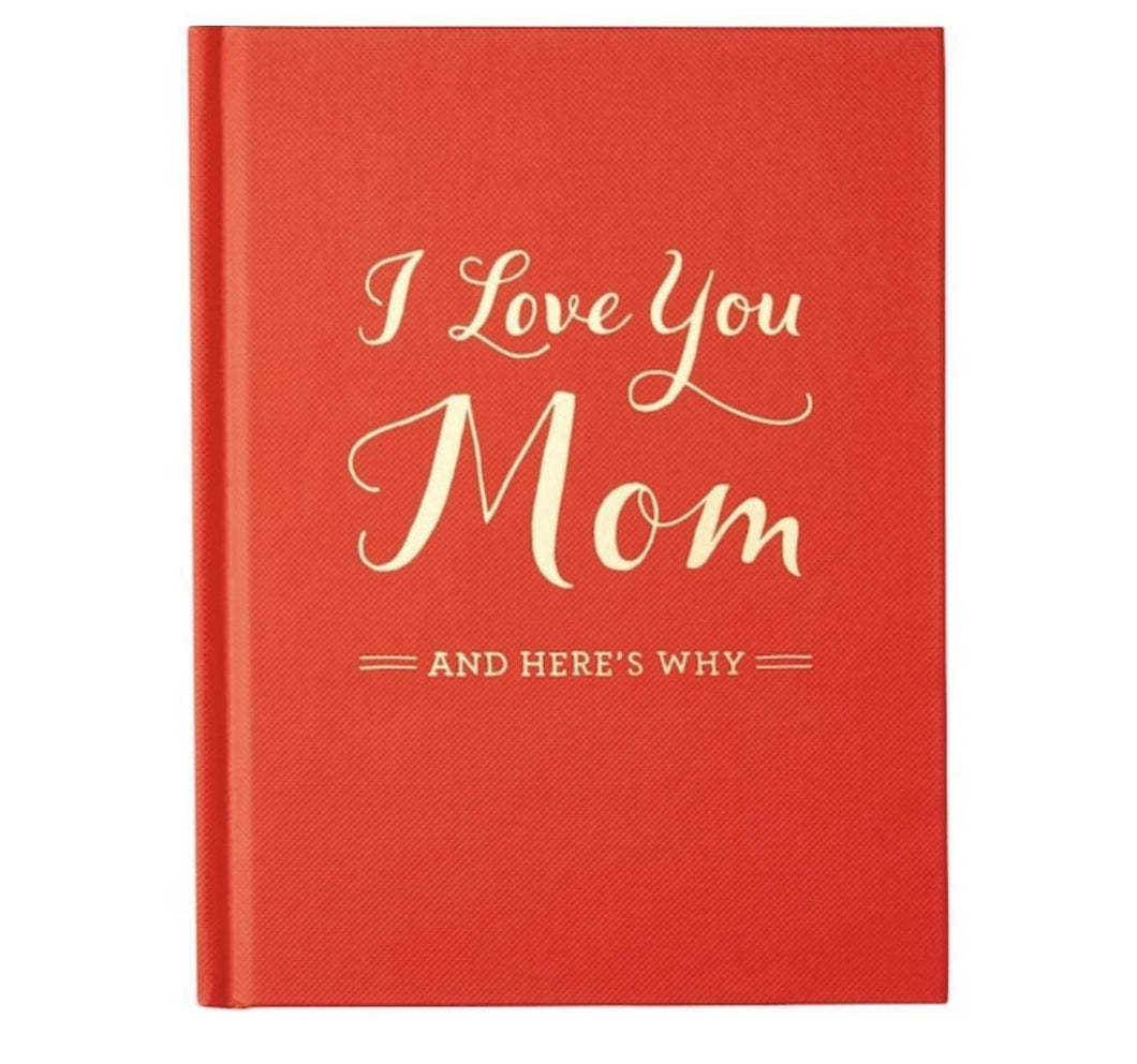 I love you Mom - Fill in the Blanks Book - Lemon And Lavender Toronto