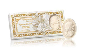 Italian Cameo Floral Scented Soap - Set of 3 - Lemon And Lavender Toronto