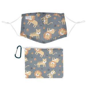 Kids Safari Mask + Cotton Bag! - Lemon And Lavender Toronto