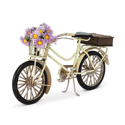 Large Bike with Decorations - Ivory - Lemon And Lavender Toronto