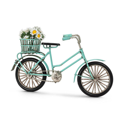 Large Bike with Decorations - Turquoise - Lemon And Lavender Toronto