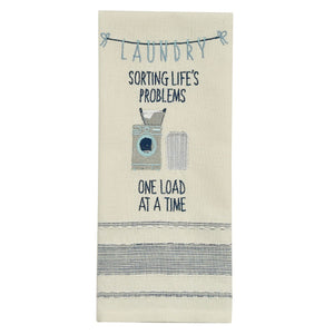 Laundry Sorting Tea Towel - Lemon And Lavender Toronto