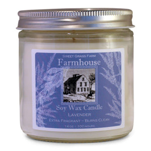 Lavender - 100 Hour Soy Wax Candle - Lemon And Lavender Toronto