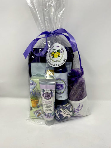 Lavender Care Package - Lemon And Lavender Toronto
