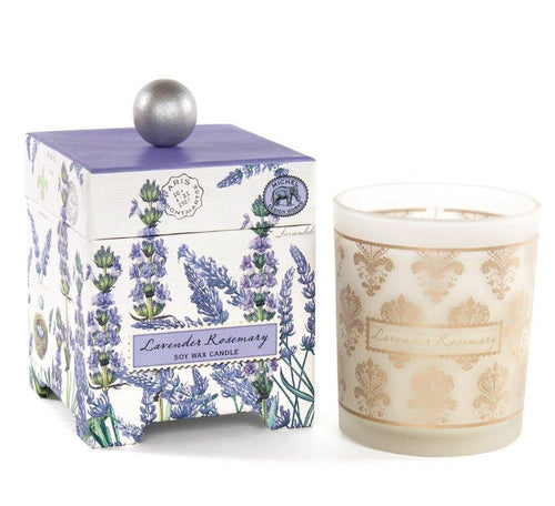 Lavender Rosemary 6.5oz. Soy Wax Candle - Lemon And Lavender Toronto