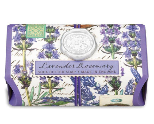 Lavender Rosemary Large Bath Soap Bar - Lemon And Lavender Toronto