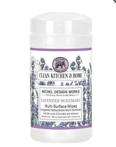 Lavender Rosemary Multi-Surface Wipes - Lemon And Lavender Toronto