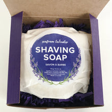 Load image into Gallery viewer, Lavender Shaving Soap - Lemon And Lavender Toronto