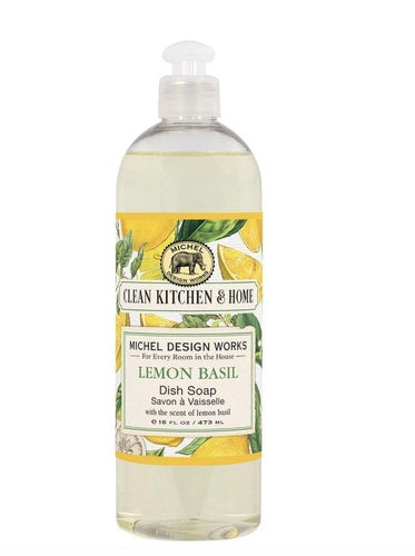 Lemon Basil Dish Soap - Lemon And Lavender Toronto