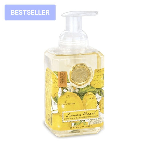 Lemon Basil Foaming Hand Soap - Lemon And Lavender Toronto