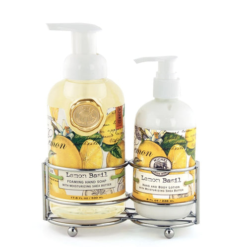 Lemon Basil Handcare Caddy - Lemon And Lavender Toronto