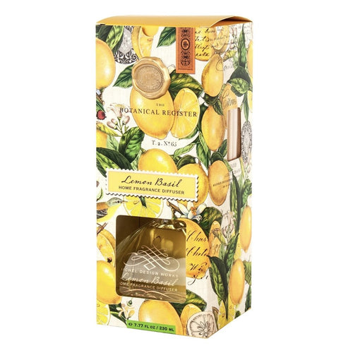 Lemon Basil Home Fragrance Diffuser - Lemon And Lavender Toronto