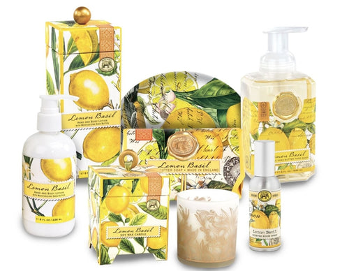 Lemon Basil Kitchen or Bath Set - Lemon And Lavender Toronto