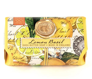 Lemon Basil Large Bath Soap Bar - Lemon And Lavender Toronto