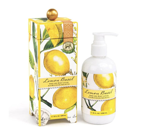 Lemon Basil Lotion - Lemon And Lavender Toronto