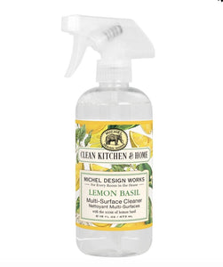 Lemon Basil Multi-Surface Cleaner - Lemon And Lavender Toronto