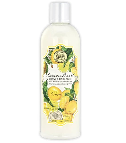 Lemon Basil Shower Body Wash - Lemon And Lavender Toronto