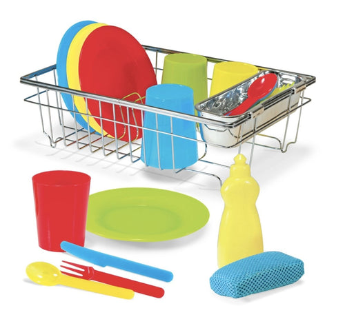 Let's Play House! Wash & Dry Dish Set - Lemon And Lavender Toronto