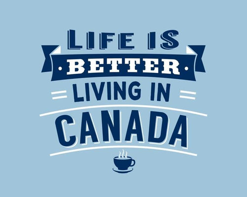 Life is Better in Canada Mug - Lemon And Lavender Toronto