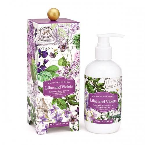 Lilac and Violets Hand & Body Lotion - Lemon And Lavender Toronto
