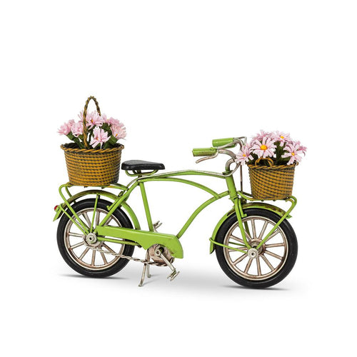 Little Green Bike with Decorations - Lemon And Lavender Toronto