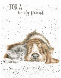 Lovely Friend Card - Lemon And Lavender Toronto