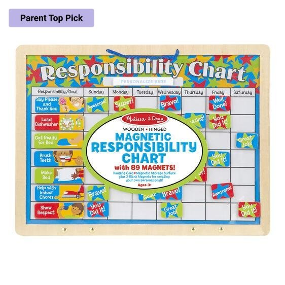 Magnetic Responsibility Chart - Lemon And Lavender Toronto