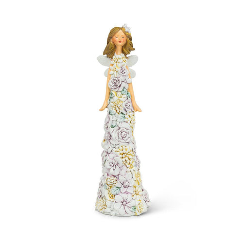 Medium Flower Dress Angel - Lemon And Lavender Toronto