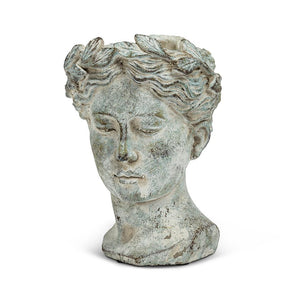 Medium Woman Head Planter - Lemon And Lavender Toronto