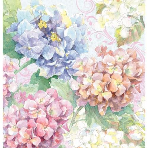 Memo Pad with Pen - Soft Hydrangea - Lemon And Lavender Toronto