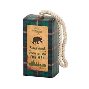 Men's Soap on a Rope - Forest Musk - Lemon And Lavender Toronto