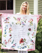 Load image into Gallery viewer, Mother's Poem Scarf Pink - April Cornell - Lemon And Lavender Toronto