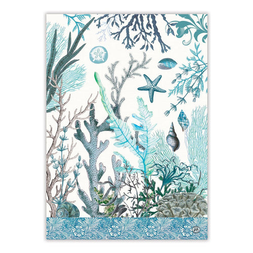 Ocean Tide Kitchen Towel - Lemon And Lavender Toronto