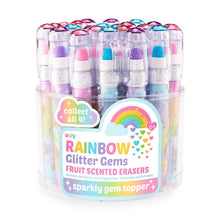 Load image into Gallery viewer, Ooly - Rainbow Glitter Gem Scented Erasers - Lemon And Lavender Toronto