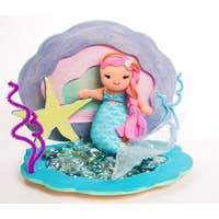 Load image into Gallery viewer, Paint and decorate your own Mermaid Sea Shell - Lemon And Lavender Toronto