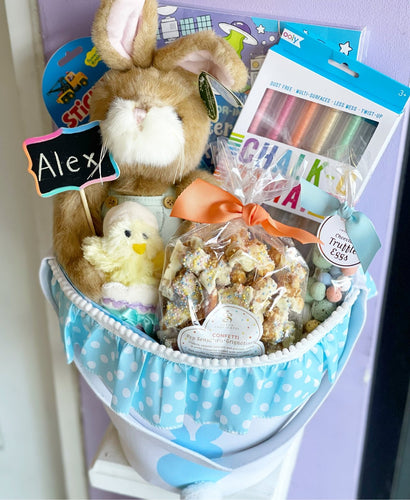 Personalized Easter Basket - Activities & Goodies 🐰 - Lemon And Lavender Toronto