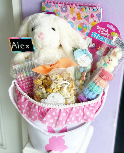 Personalized Easter Basket - Arts & Goodies 🐰 - Lemon And Lavender Toronto