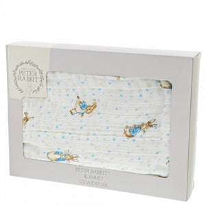 Peter Rabbit - Baby Blanket - Lemon And Lavender Toronto